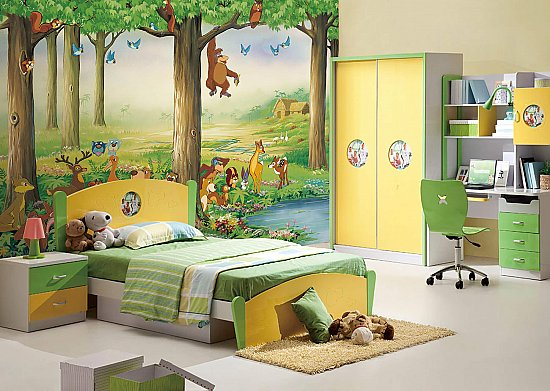 Whimsy Wall Mural