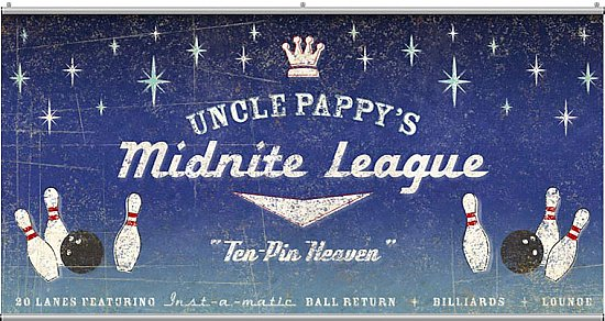 Midnite League Minute Mural F0974MM