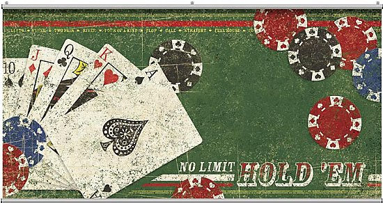 No Limit Hold 'em Minute Mural 121050