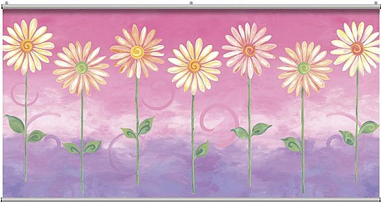 Big Daisies Minute Mural 121225