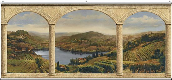 Stone Arches Vineyard Minute Mural 121245