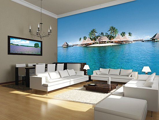 Paradise Lost Wall Mural DS8088 Roomsetting