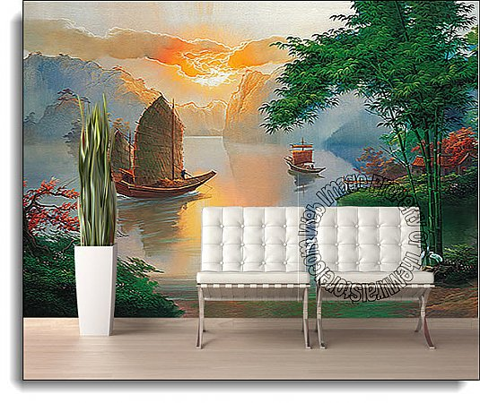 Sea Of Serenity Mural DS8014 1814