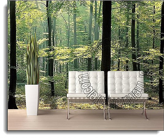 Enchanted Forest Mural 1833 DS8033