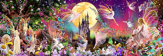Fairyland Wall Mural DM311 by Ideal Decor