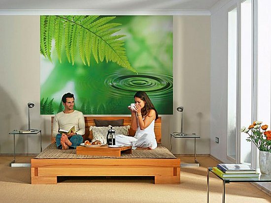 Silence Wall Mural 4-730 roomsetting