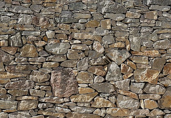 Stone Wall Mural 8-727 roomsetting