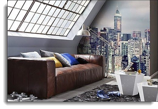 Skyline Wall Mural 8-913 Roomsetting
