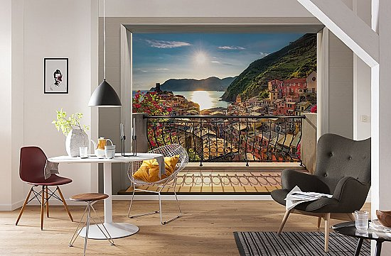 Vernazza Wall Mural 8-988 Roomsetting