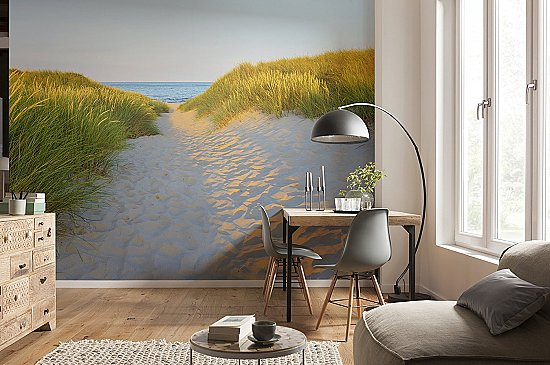 Sandy Path Wall Mural 8-995 by Komar Roomsetting