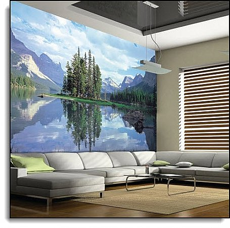 Reflections Mural 1802 DS8002 roomsetting