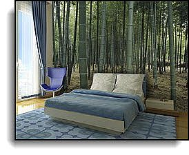Bamboo Forest Wall Mural DS8031 roomsetting