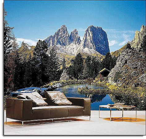 Dolomite Alps Italy Wall Mural DS8077 roomsetting