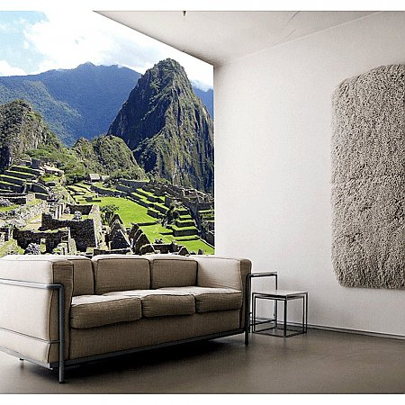MACHU PICCHU Paste the Wall Mural by Brewster 99076