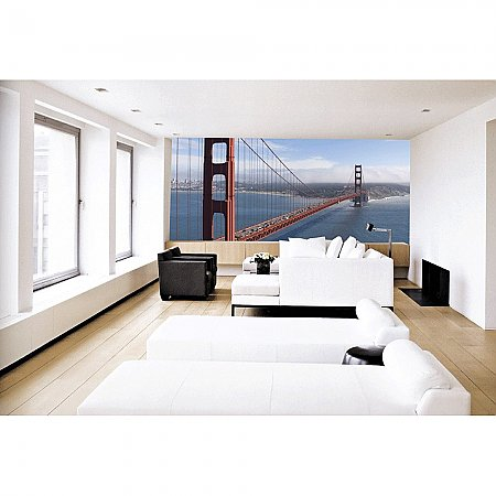 GOLDEN GATE BRIDGE Paste the Wall Mural by Brewster 99082