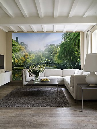 Bridge In The Sunlight Wall Mural DM132 roomsetting