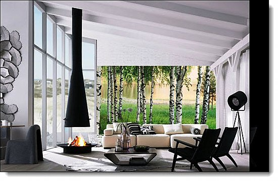 Nordic Forest Wall Mural 290