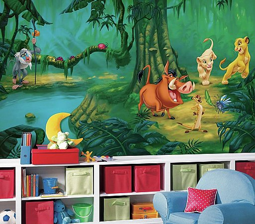 The Lion King Wall Mural roomsetting