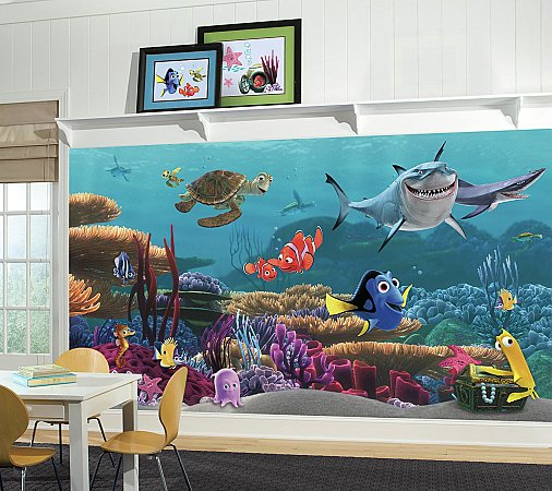 FINDING NEMO XL MURAL ROOMSETTING