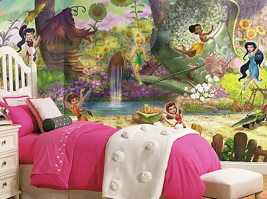Disney Fairies Pixie Hollow Roomsetting