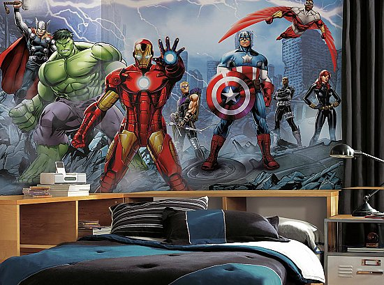 AVENGERS ASSEMBLY XL MURAL ROOMSETTING
