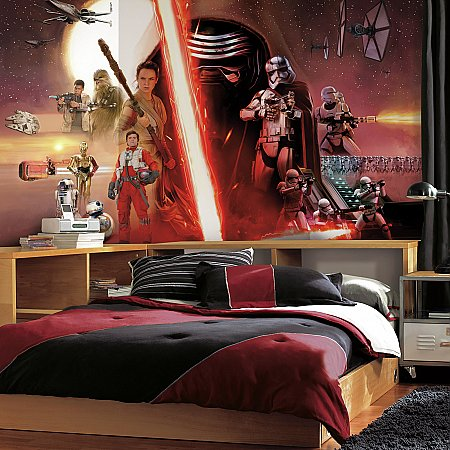 STAR WARS VII XL MURAL ROOMSETTING