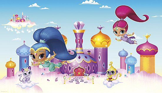 SHIMMER AND SHINE XL MURAL