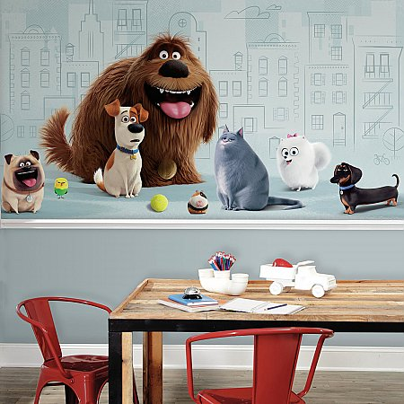 SECRET LIFE OF PETS XL MURAL ROOMSETTING