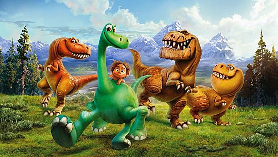 GOOD DINOSAUR XL MURAL