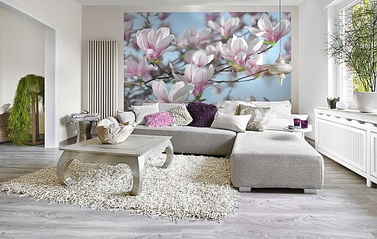 Magnolia Wall Mural 8-738 roomsetting large