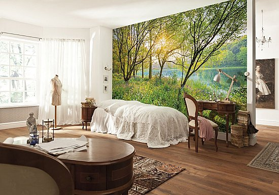 Spring Lake Wall Mural by Komar 8-524 roomsetting