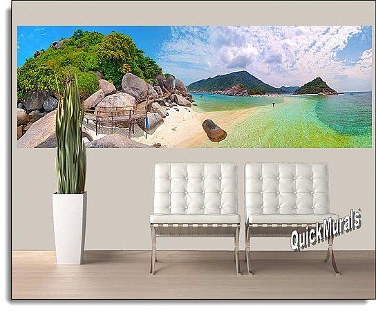 Tropical Beach Resort Panoramic