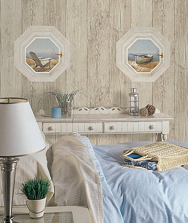 Shoreline Boat Mural NT5856M Roomsetting
