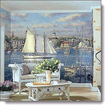Harbor Mural RA0143M by York