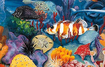 Under The Sea Mural Z20263