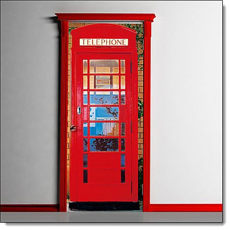 Telephone Box Mural 549