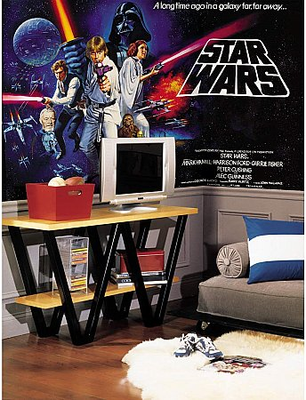 Star Wars Wall Mural by Roommates