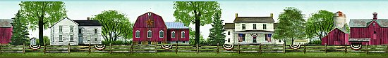 Farmhouse Scenic Border