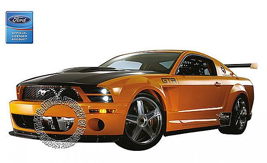 Ford Mustang GT-R Concept Mural 122075