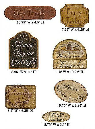 Home Sweet Home Signs CT1977M