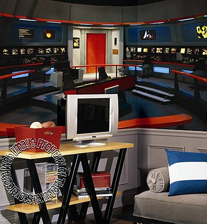 Star Trek Enterprise Bridge Mural JL1171M