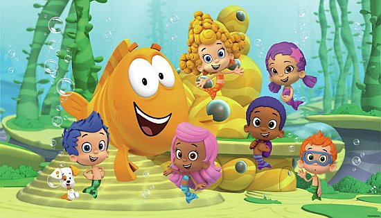 BUBBLE GUPPIES XL MURAL