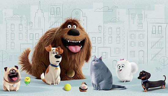 SECRET LIFE OF PETS XL MURAL