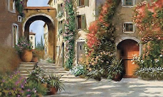 Tuscan Breezeway Wall Mural MP4871M