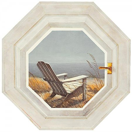 Shoreline Chair Mural NT5854M