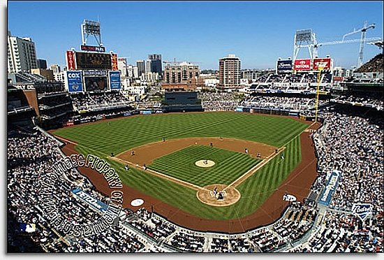 Sand Diego Padres/PETCO Park Mural MSMLB-SDP-CDS12005S