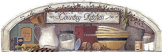 Country Kitchen Mural Hot Deal
