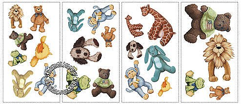 Cuddle Buddies Peel & Stick Applique RMK1023SCS