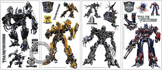 Transformers Peel & Stick Applique RMK1091SCS