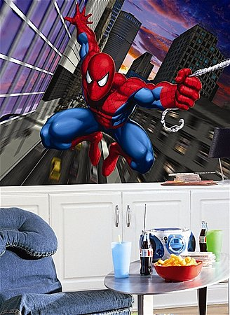 Spiderman Wall Mural |Mid-size Wall Murals |The Mural Store